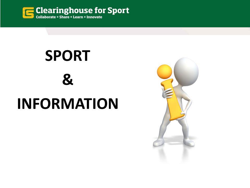 SPORT & INFORMATION