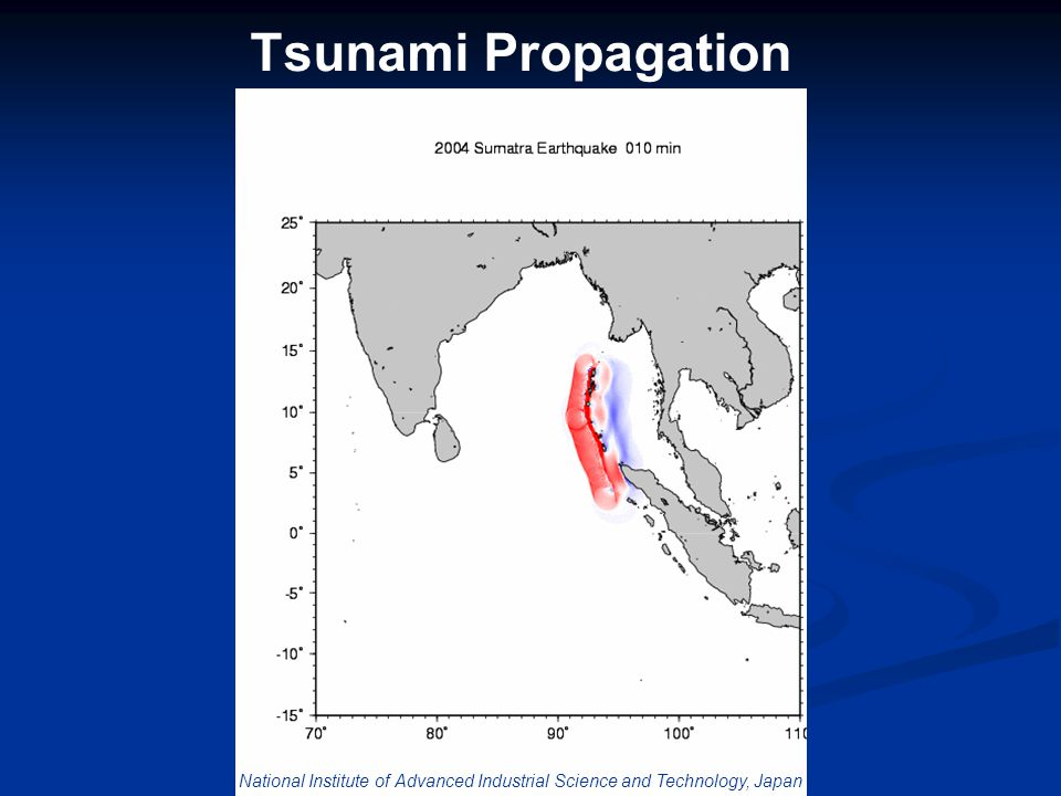 Tsunami Propagation National Institute of Advanced Industrial Science and Technology, Japan