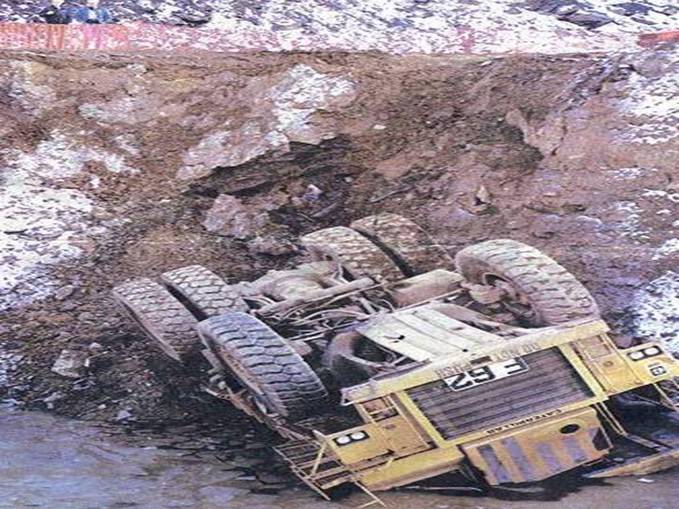 Examples of Common Hazards in Highway Work Zones