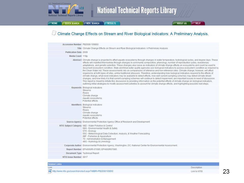 www.ntis.gov 23