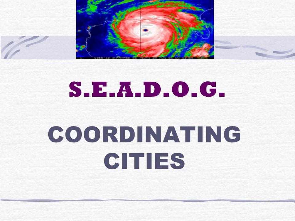 S.E.A.D.O.G. COORDINATING CITIES