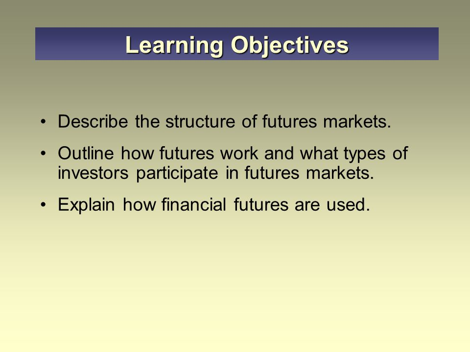 Appendix 20-A Future Options Put and call options are offered on both interest rate futures and stock-index futures Several options on futures contracts:  On foreign exchange: pound, mark, Swiss franc, yen, etc.