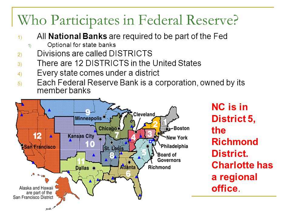 The Federal Reserve What are the two arms of The Fed .