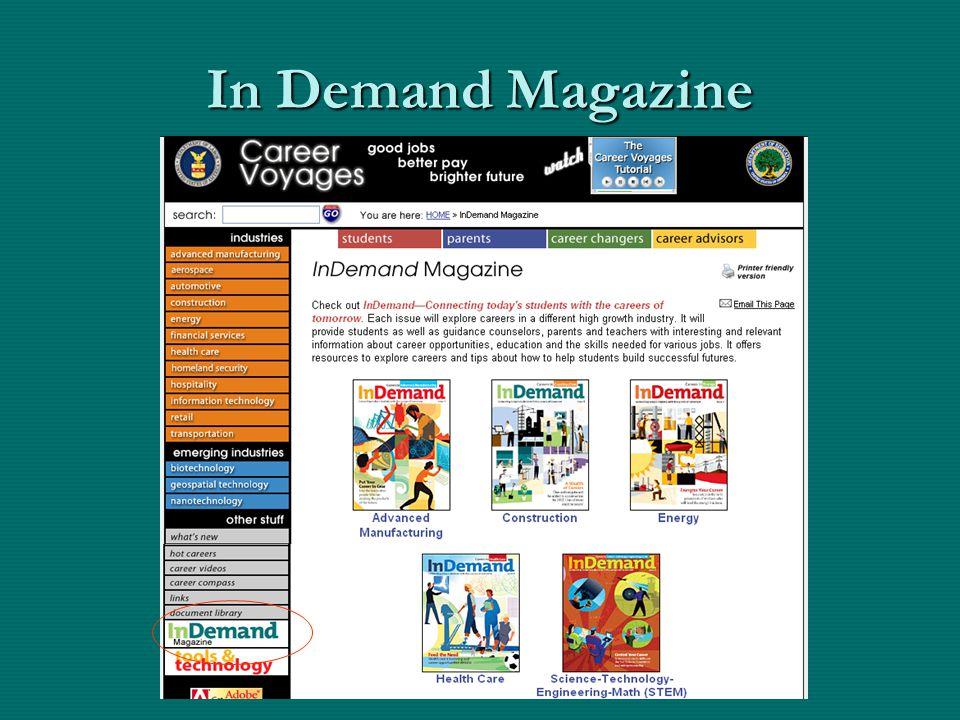 In Demand Magazine