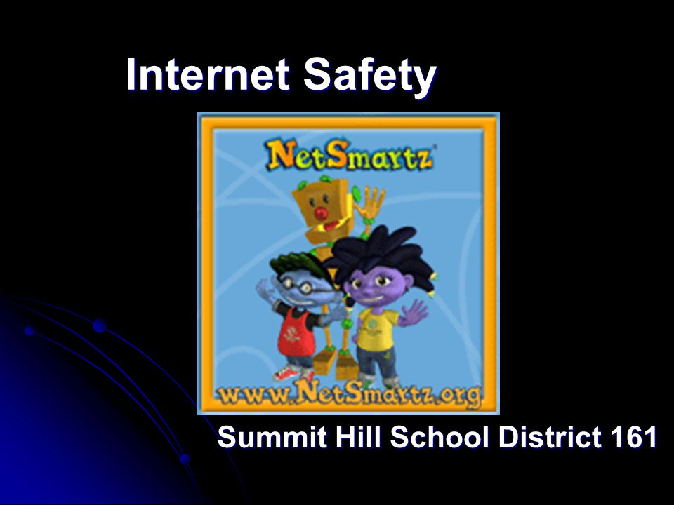 Internet Safety Summit Hill School District 161