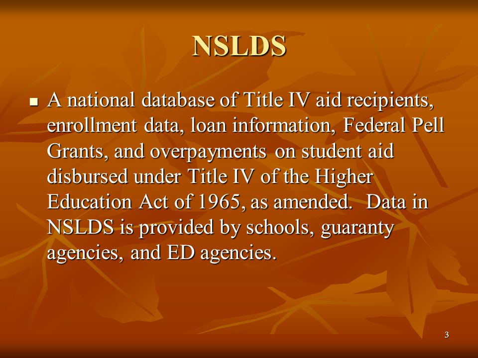 34 Loan Information, Disbursements, and Determining Eligibility Filtering (Display) Options Filtering (Display) Options