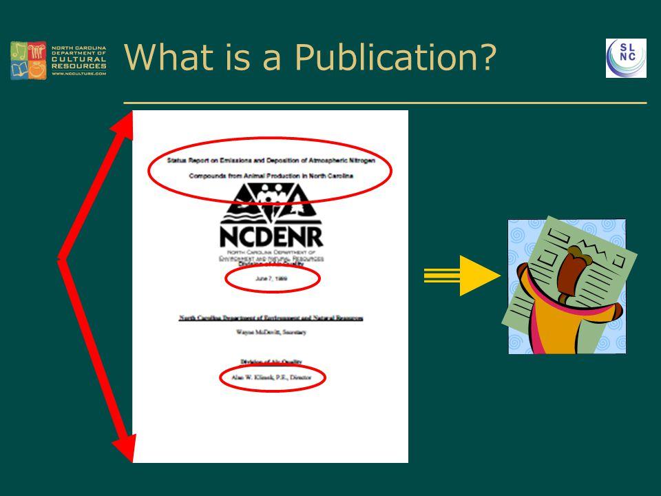 What is a Publication