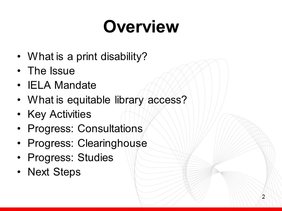 3 What is a print disability.Print disabilities prevent people from reading standard print.