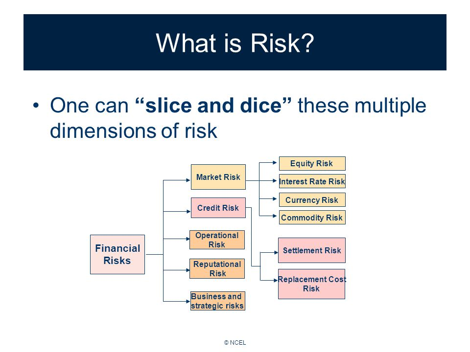 © NCEL What is Risk.