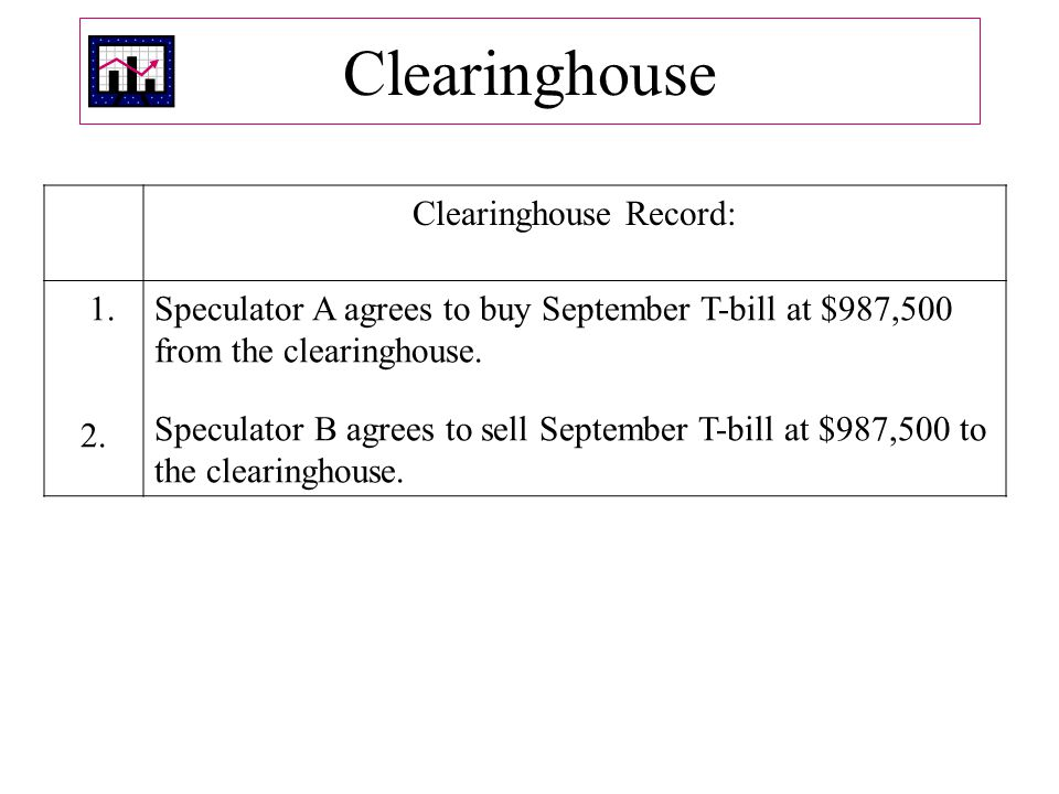 Clearinghouse Clearinghouse Record: 1.2.