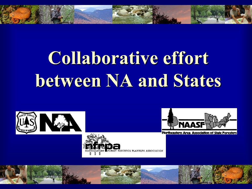 Collaborative effort between NA and States