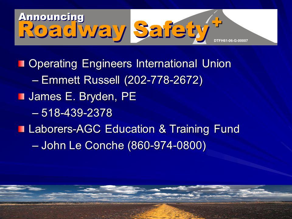 EPCRA/SARA Title III New York Health & Safety Fund –Jim Melius (518-449-1715) American Assoc.