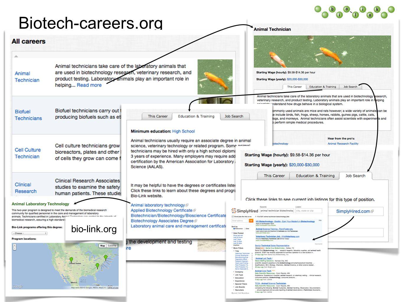 Biotech-careers.org bio-link.org