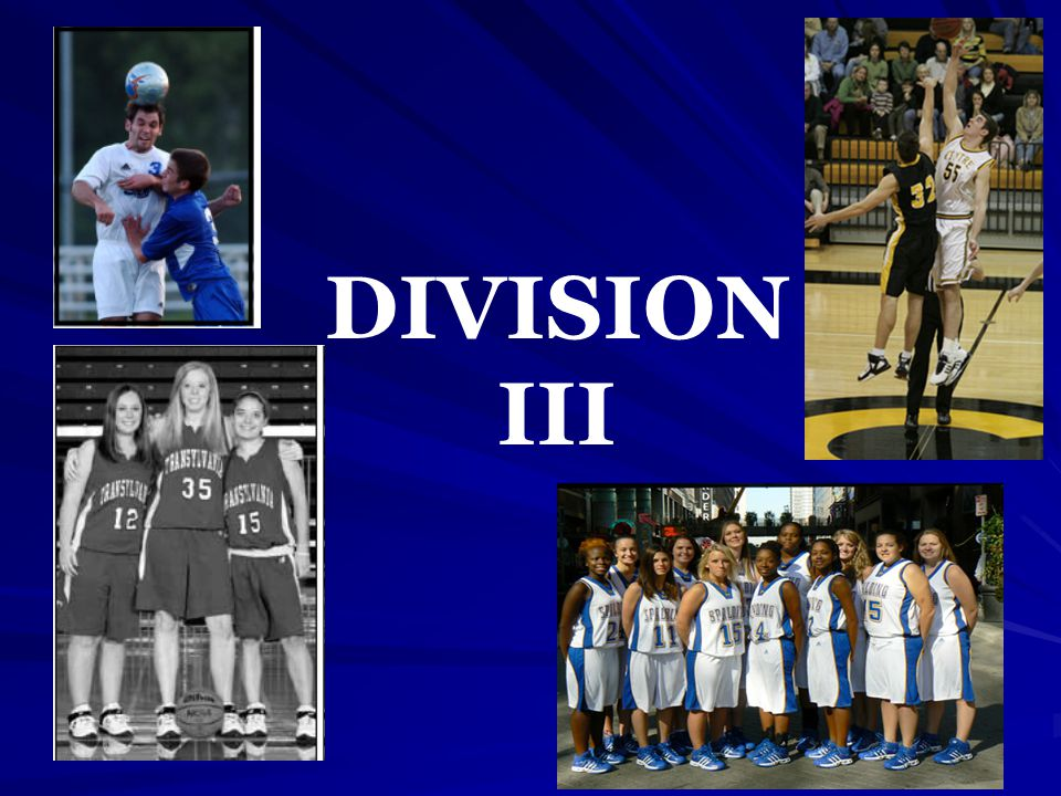 DIVISION III