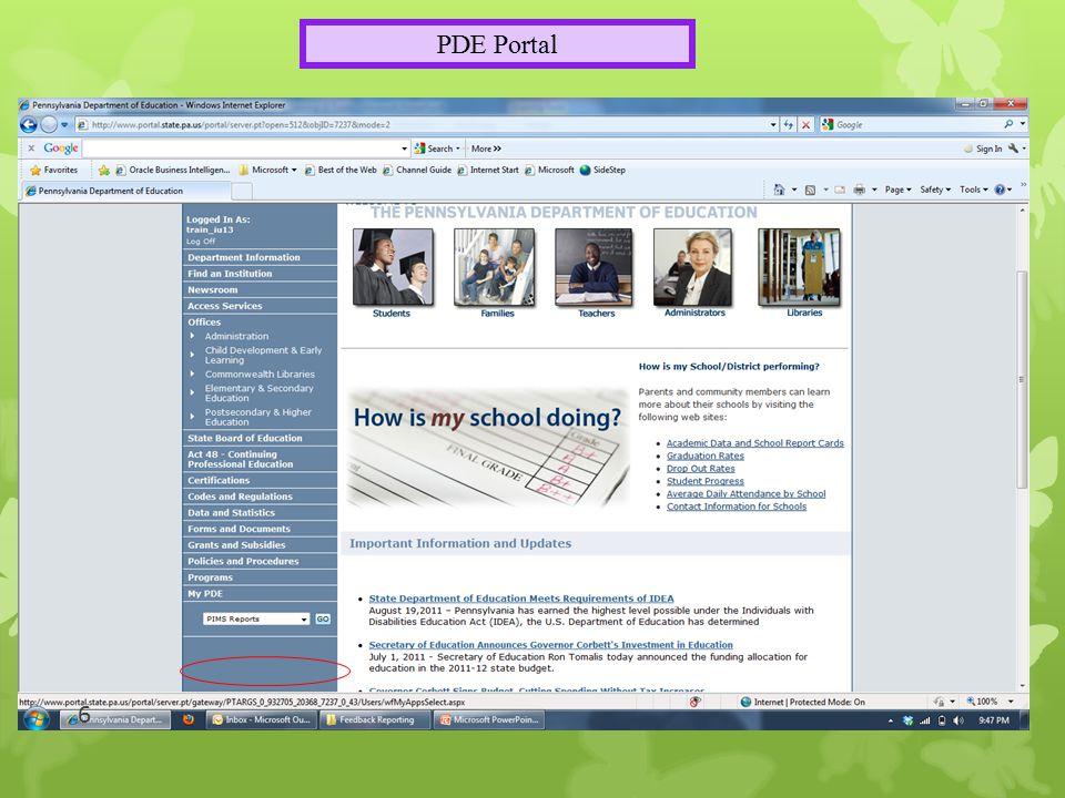 PDE Portal 6