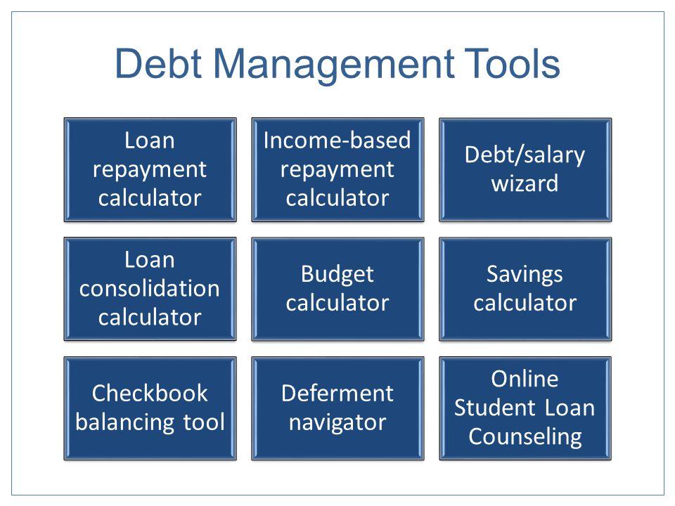 Debt Management Tools
