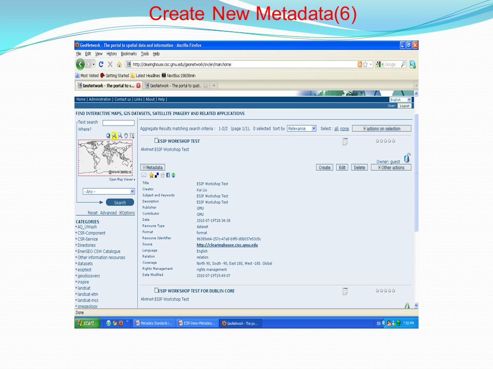 Create New Metadata(6)
