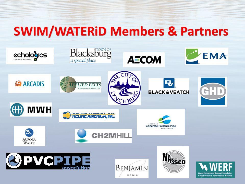 SWIM/WATERiD Members & Partners