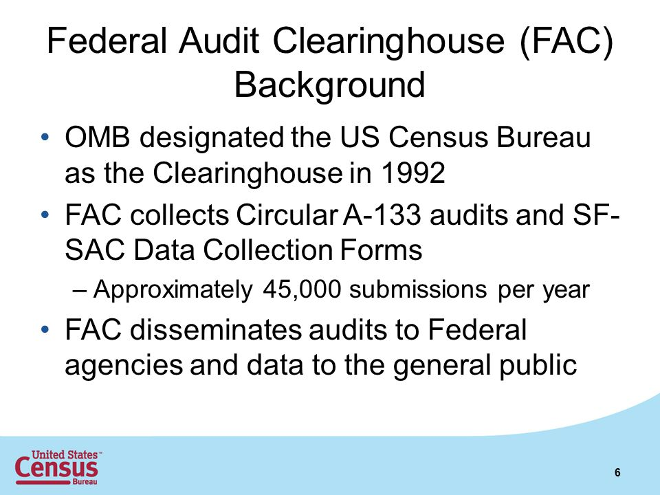 Starting a New Report Your submission must meet OMB Circular A-133 requirements 17