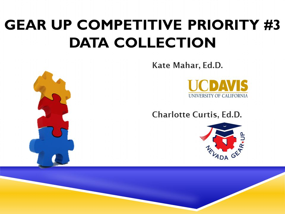 QUALITY DATA COLLECTION  Up to an additional three points will be awarded to projects that are designed to collect, analyze and use: High-quality and timely data, including data on program participant outcomes