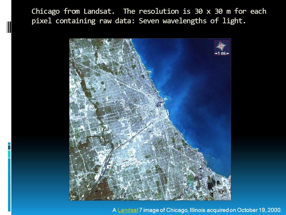 Chicago from Landsat.
