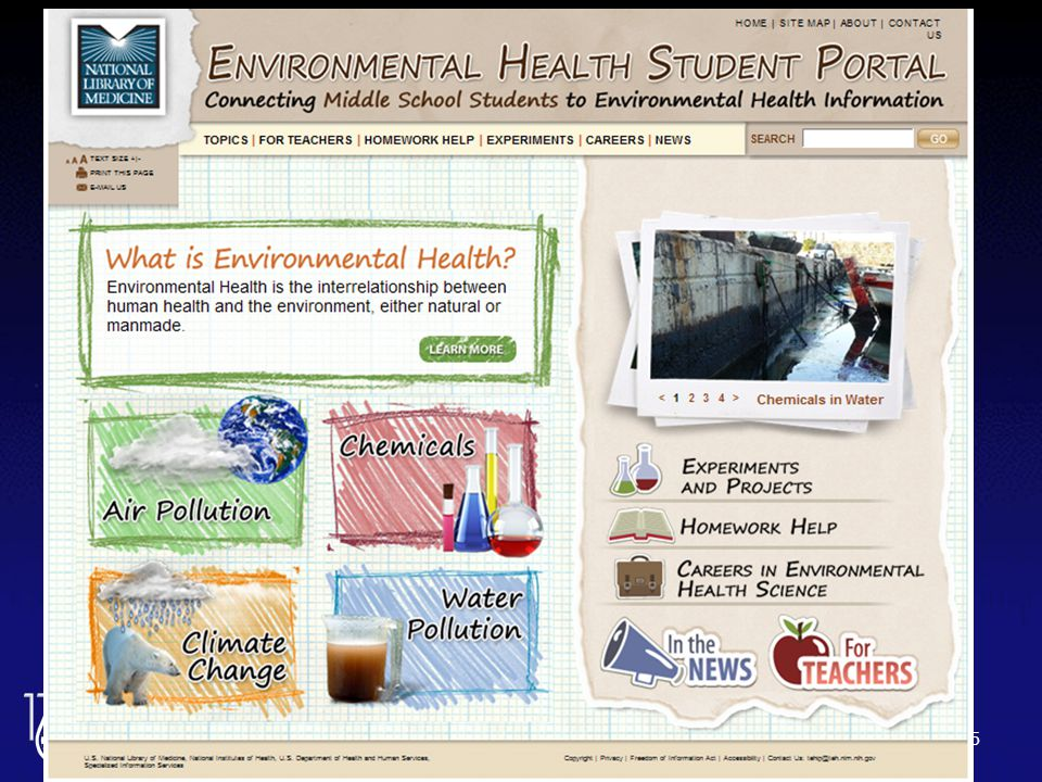 Environmental Health Student Portal 35