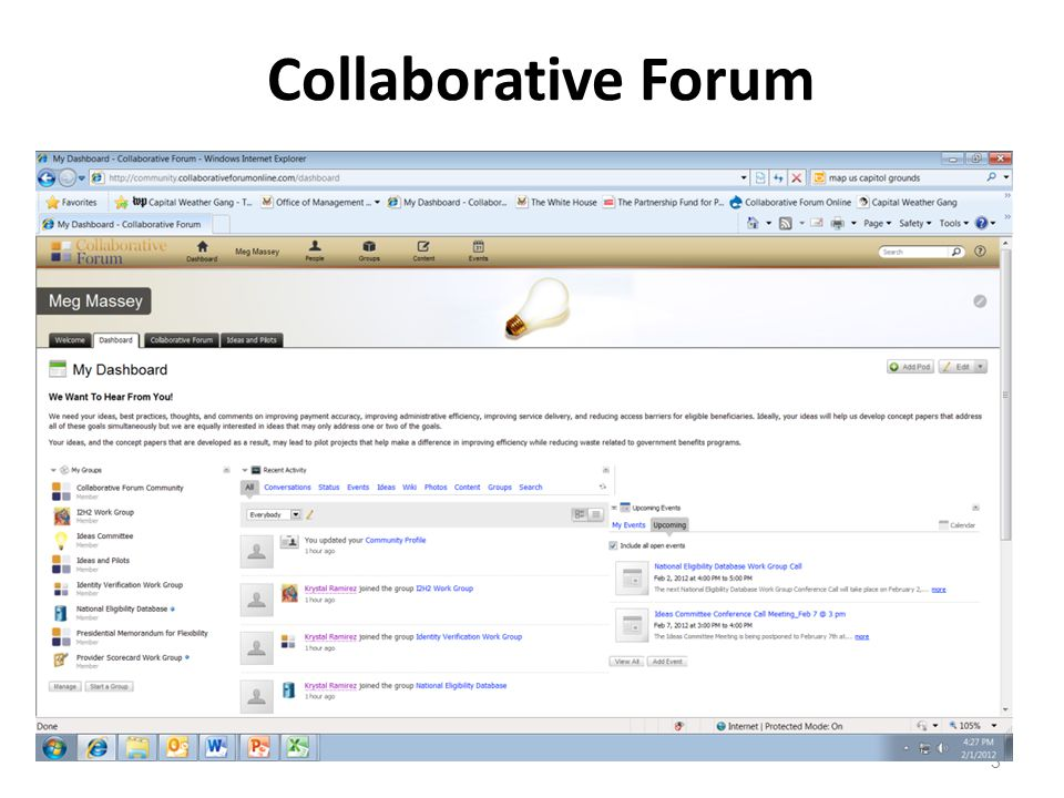3 Collaborative Forum
