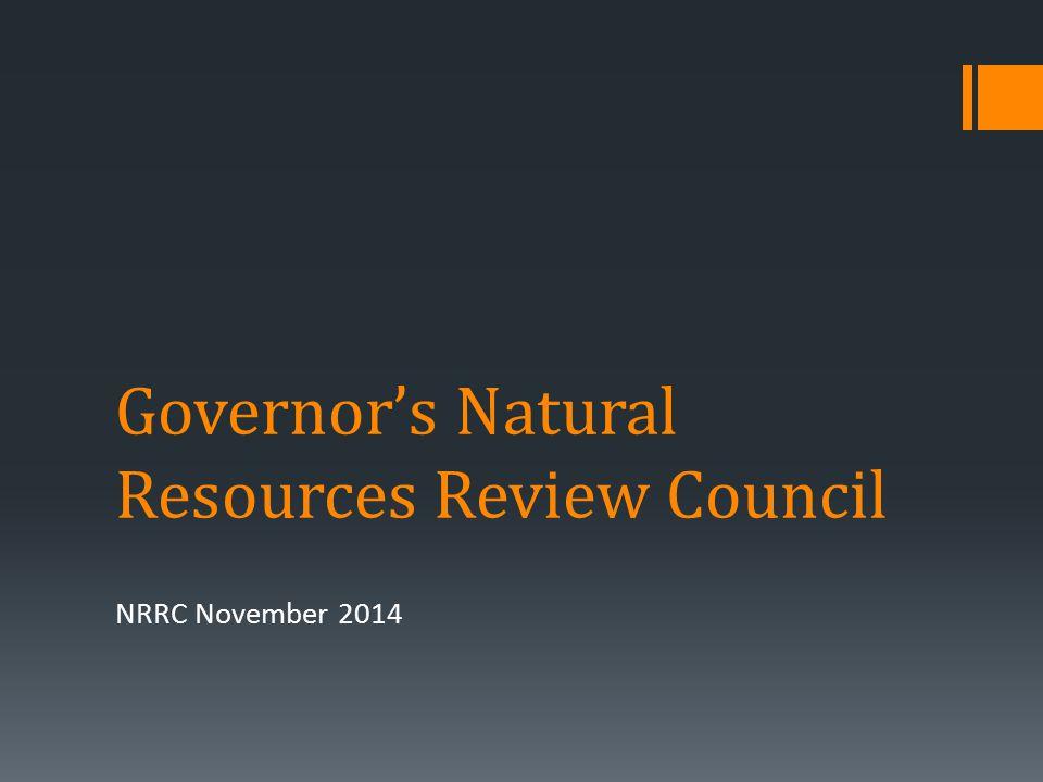 WHO WE ARE NRRC November 2014