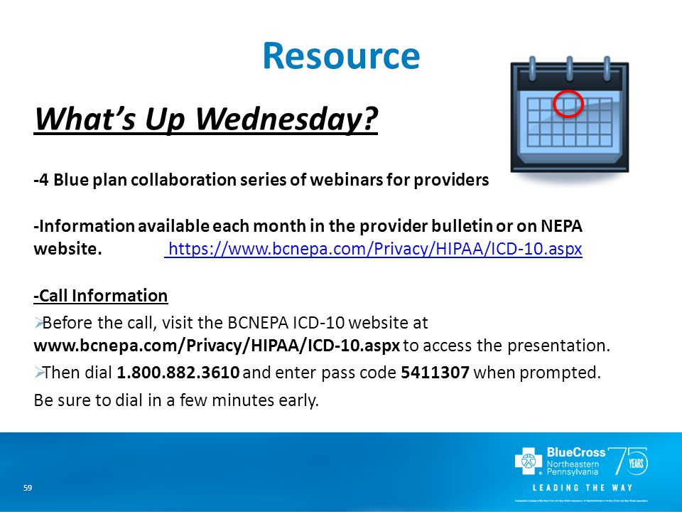 59 Resource What's Up Wednesday.