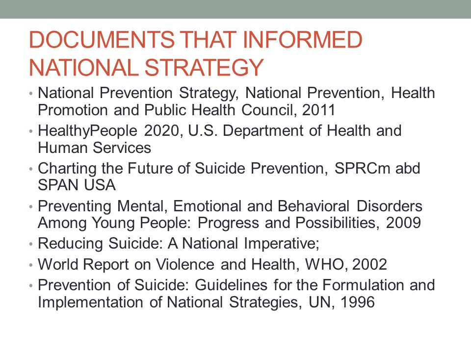 Then and Now Suicide Advisory Board is a much broader coalition than the previous Interagency Suicide Prevention Network, representing a wide mix of public state agencies, private not for profits, professions, survivors, veterans, military, clergy, schools, universities, health care agencies, police, and communities.
