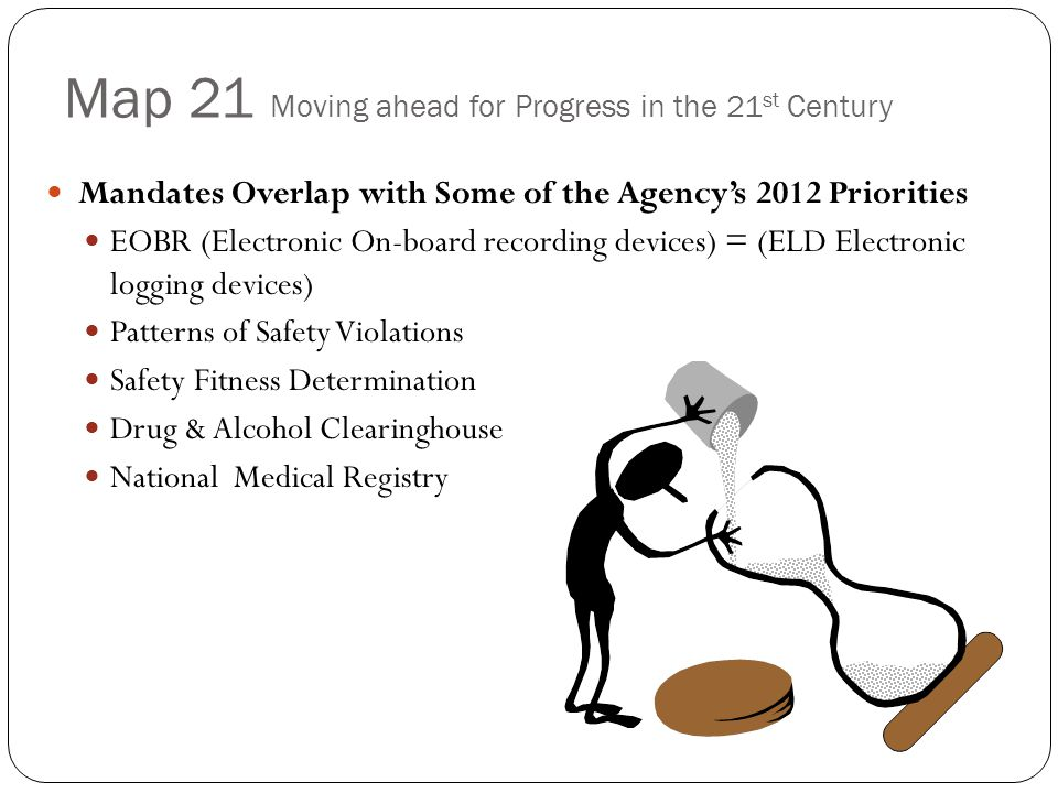 Map 21 Moving ahead for Progress in the 21 st Century Examples of MAP-21 Provisions that Take Effect Oct.