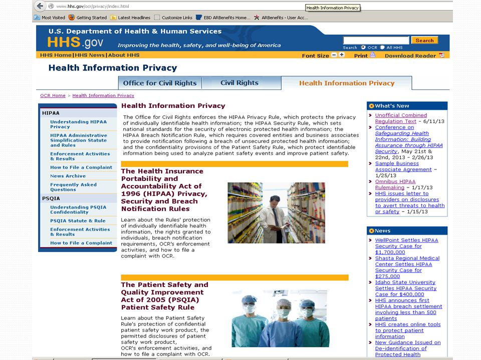 What Every Employee Should Know and Remember  What is HIPAA