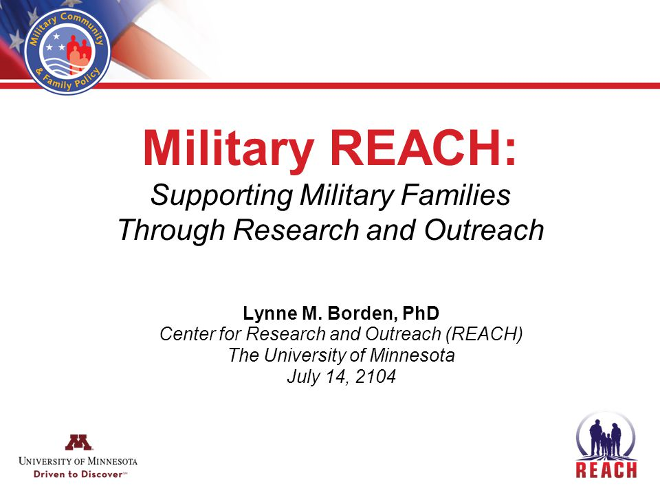 Clearinghouse Projects Resource Center for Obesity Prevention (DoD) Continuum of Evidence Project (DoD) Implementation Technical Assistance (DoD) Yellow Ribbon Reintegration Program (RA) Navy Youth Sports & Fitness Project Family Readiness Program Evaluation Plan Development Project (DoD) Family Advocacy Program (DoD) Air Force Family Advocacy Research Supporting Military Families During Parental Absence (DoDEA) USMC Study: The Impact of Suicide on Marine Families (Navy) THRIVE: Parenting Across the Lifespan (DoD) Army Public Health Command Evaluation