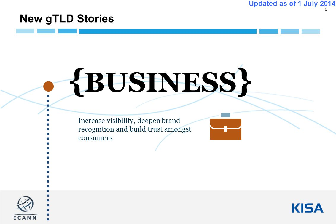 17 Updated as of 1 July 2014 New gTLDs - How can you participate, contribute or give feedback.