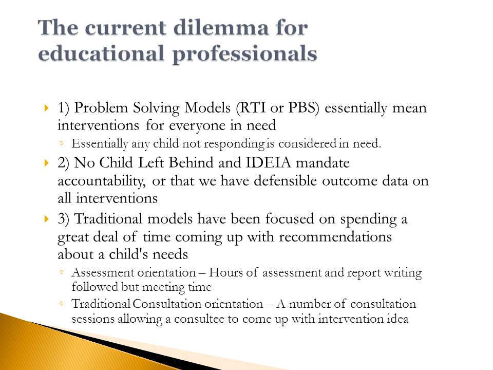  Finally, the student might not be successful because the instructional materials are too difficult.