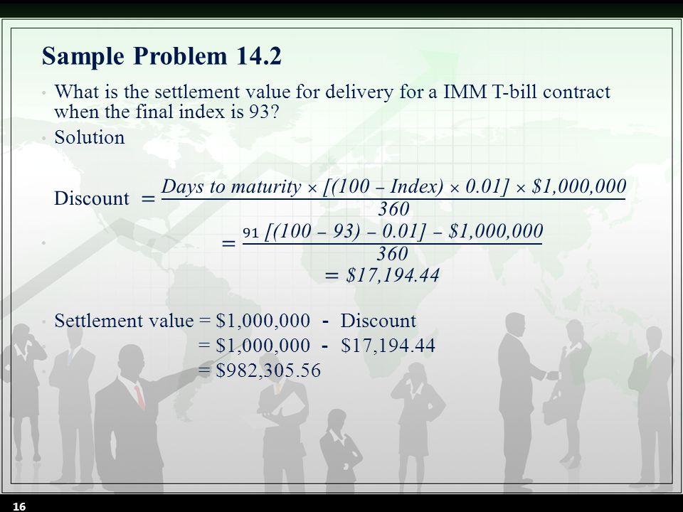 Sample Problem 14.2 16