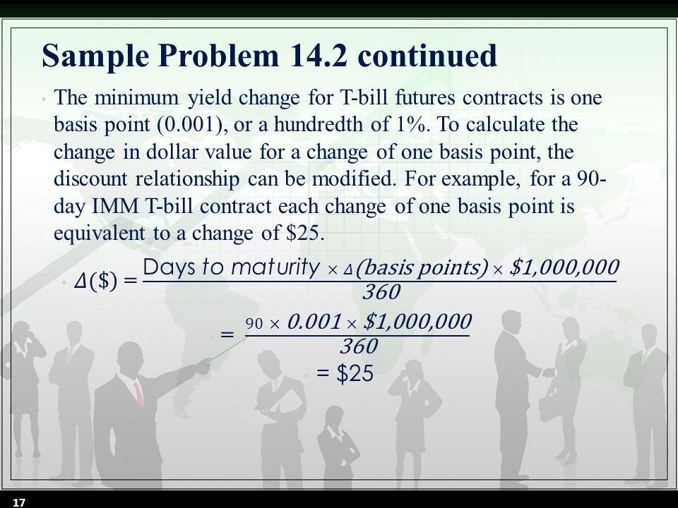 Sample Problem 14.2 continued 17