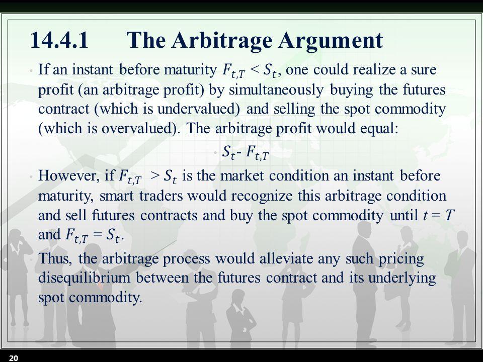 14.4.1The Arbitrage Argument 20