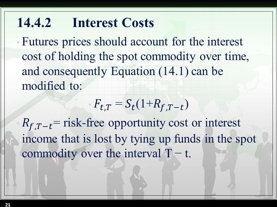 14.4.2Interest Costs 21