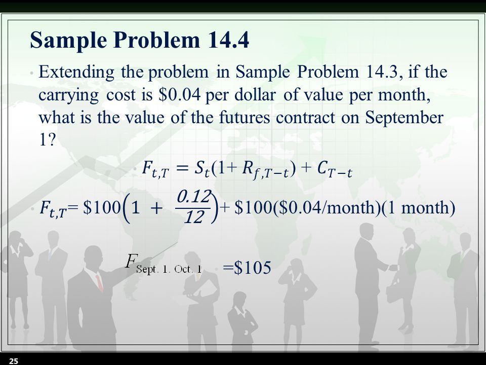 Sample Problem 14.4 25