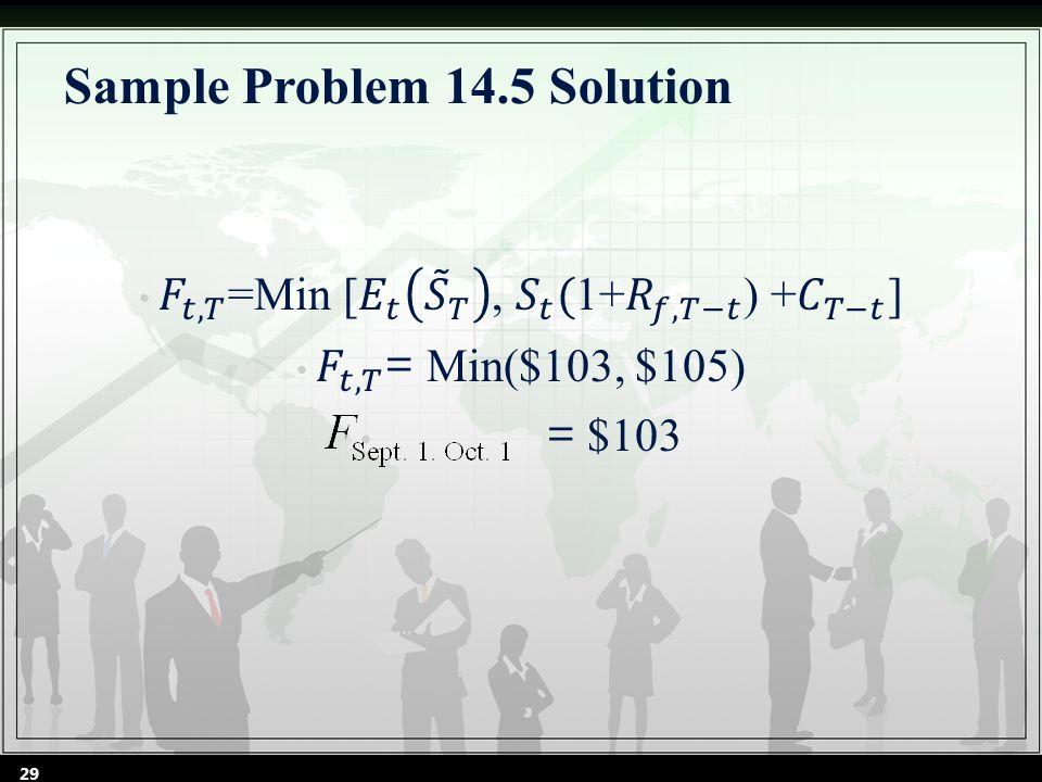 Sample Problem 14.5 Solution 29
