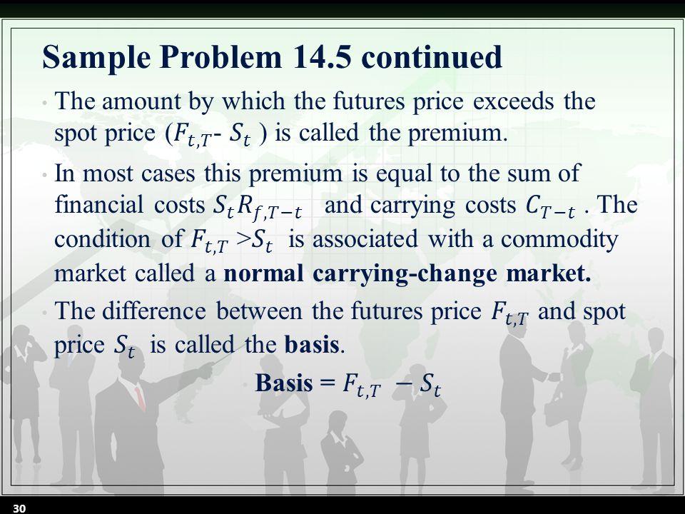Sample Problem 14.5 continued 30