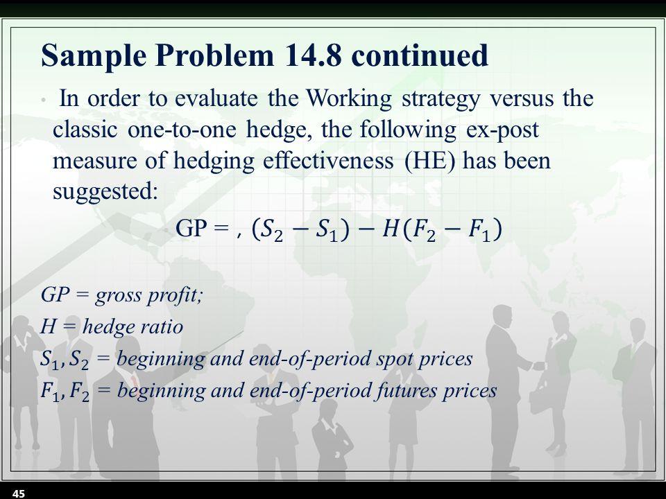 Sample Problem 14.8 continued 45