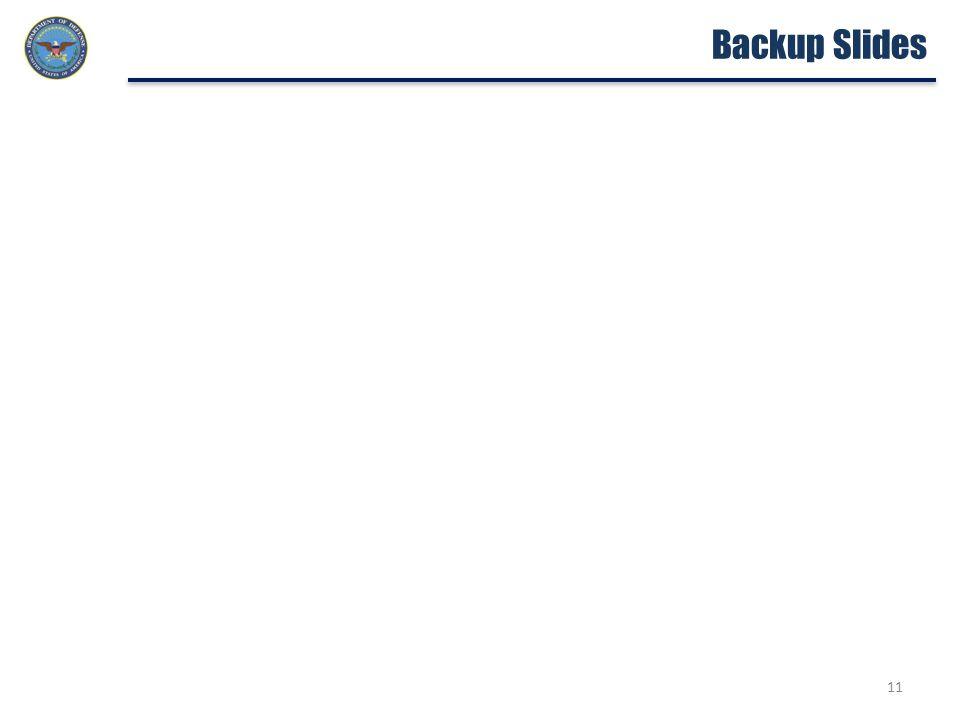 11 Backup Slides