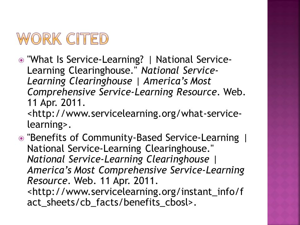  What Is Service-Learning.