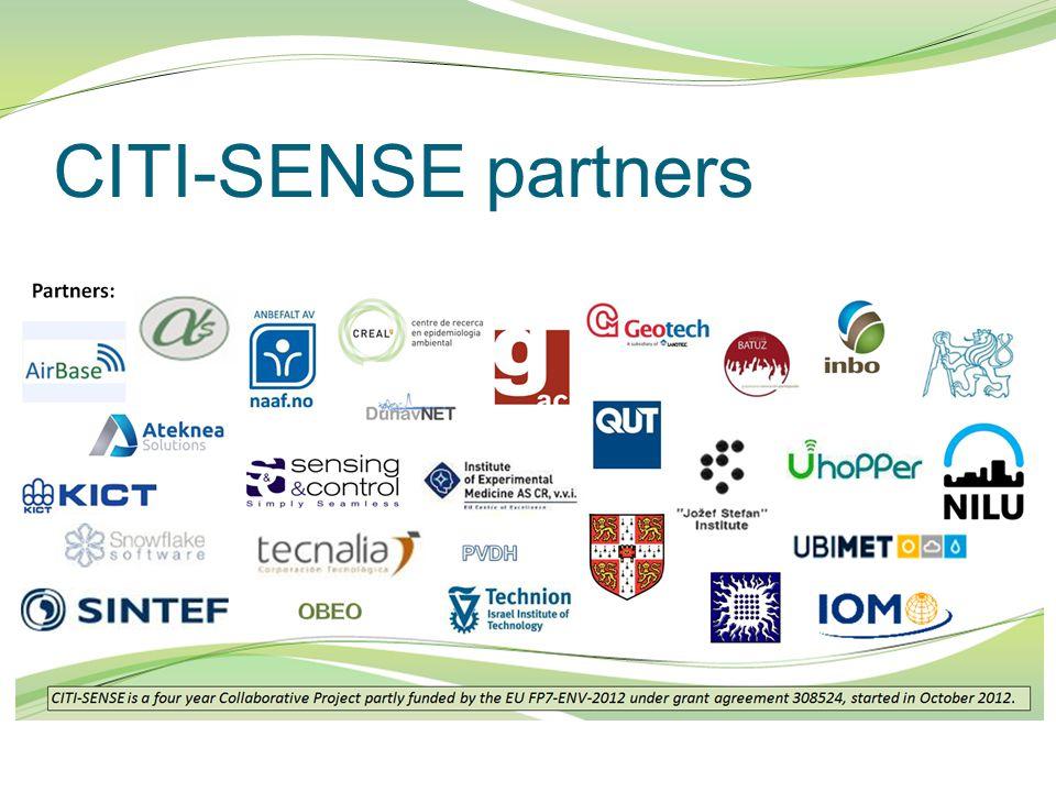 CITI-SENSE partners