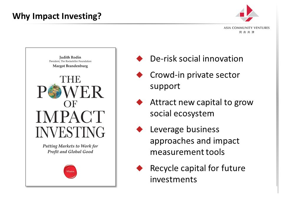 Why Impact Investing.