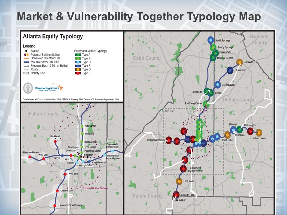 Market & Vulnerability Together Typology Map 25© 2010 Reconnecting America.