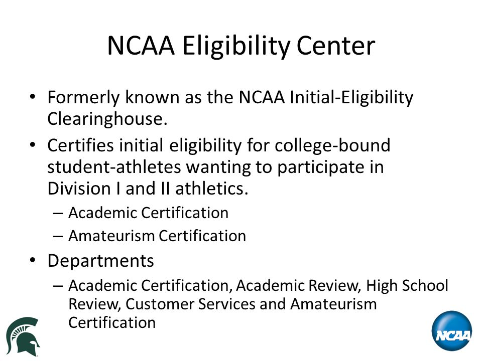 Academic Requirements – Division II Academic Certification Status Nonqualifier  Does not graduate from high school, or, if the student graduated and is missing both the core course GPA or minimum number of core courses and the required ACT/SAT scores.