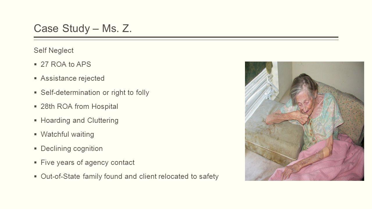 Case Study – Ms. Z.